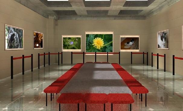 3D галерея 3