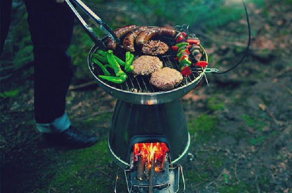 BioLite печь-гриль и зарядка для гаджетов