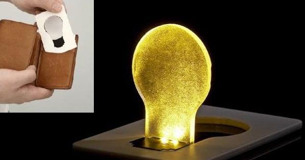 Лампочка кредитка LED Pocket Lamp