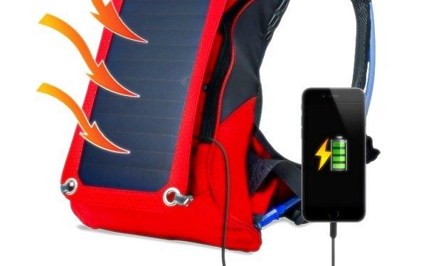 Рюкзак на солнечных панелях