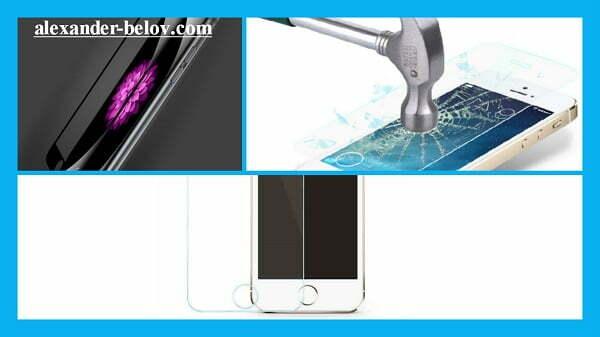 Защитное стекло для популярных моделей смартфонов