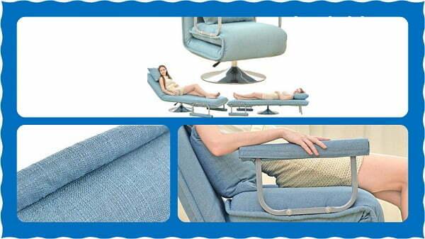Многофункциональное кресло с 5-тью разными положениями