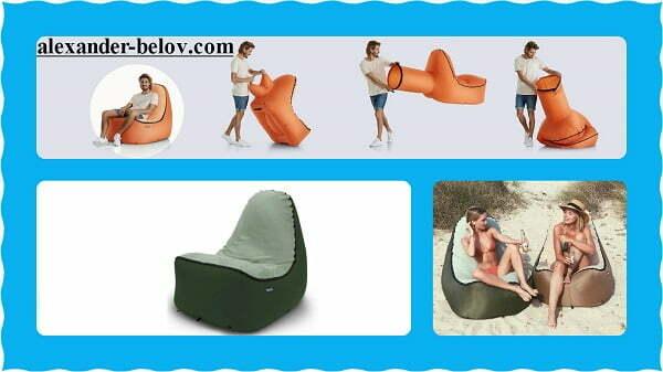 Стартап Trono Chair надувное кресло для пляжей