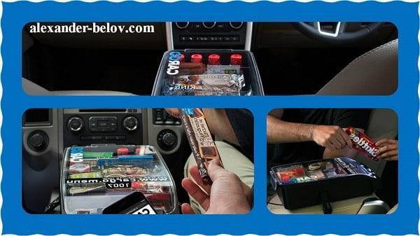 Вендинговые аппараты в такси
