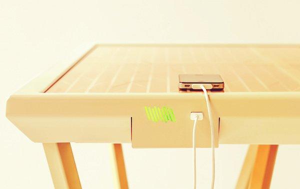 Curretn Table стол с солнечными панелями