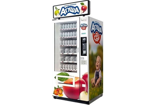 Продажа детского питания через автомат