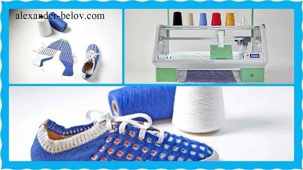 -Домашний принтер Kniterate по печати обуви и одежды