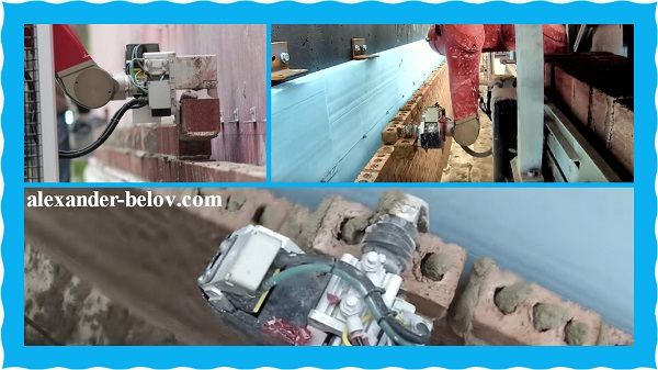 Робот-каменщик Semi-Automated Mason. Технологии в сфере строительства из США