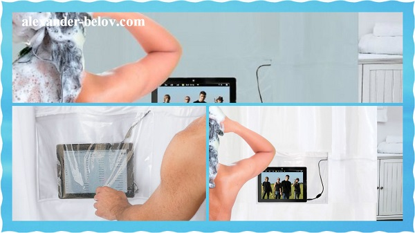 Штора iPad Musical Shower Curtain