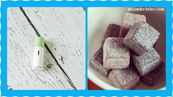 Жевательное кофе Go Cubes в виде кубиков и спрей с кофеином AeroLife